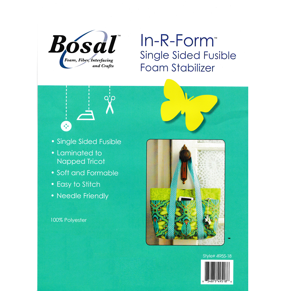 Bosal Single Sided Fusible Foam Stabiliser