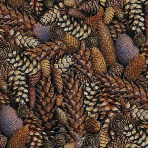 Natural Treasures II 8624-39 Pine Cones