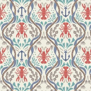 A179.1 - Lobster and Anchor On Cream