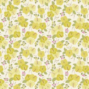 Island Girl A192.1 - Yellow Hibiscus