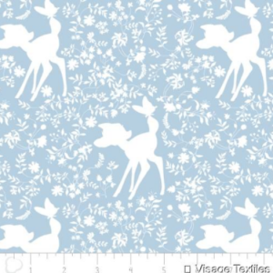 Bambi Silhouette in Blue