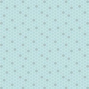 Blue Honeycomb Bee Kind A282.1