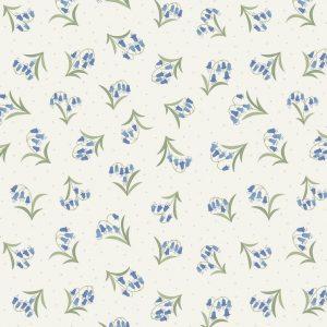Bluebells on Cream FLO10.4