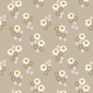 Daisies On Latte FLO12.1