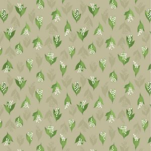Lily Of The Valley On Latte FLO11.2