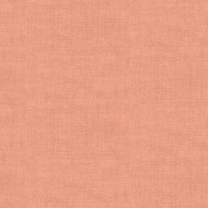 Makower 1473 Linen Texture P Coral Pink