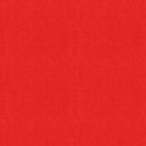 Makower 1473 Linen Texture R Red