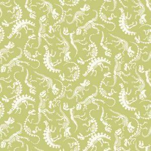 Makower Rex 1897 Skeleton Green