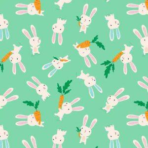 Makower Flo's Friends 1628 Rabbits