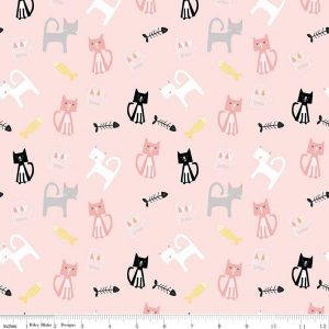 Meow and Forever Main Pink C7840