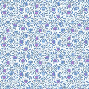Hanns House Blue Hanns floral A278.1