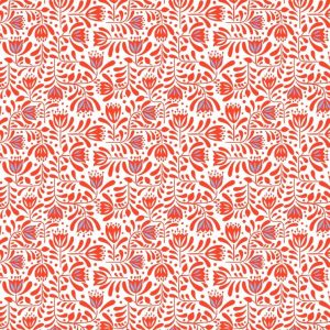 Hanns House Red Hanns floral A278.2