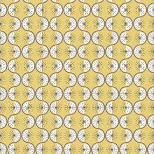 A361.2 Retro wiggle on yellow