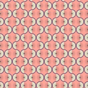A361.3 Retro wiggle on pink