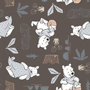 Winnie the Pooh Woodland 03 Grey