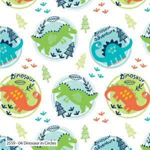 Dinosaur Circles