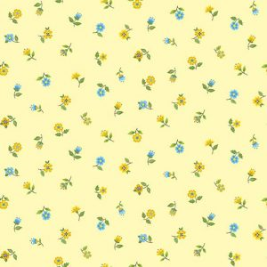 Bloom 2032 Y Floral Scatter yellow
