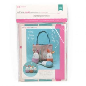 Easter Basket and Eggs panel craft kit