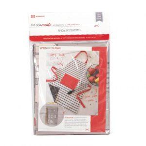 Moda cut sew create apron kit